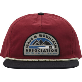 Hippy Tree Association Gorra Hombre, rust